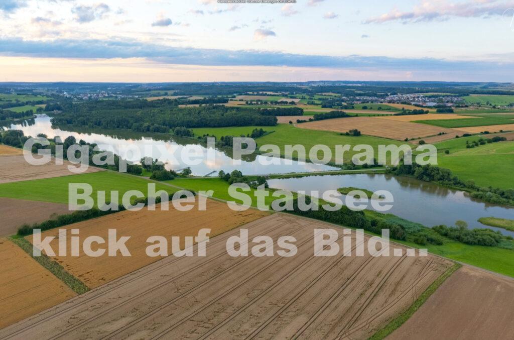 Sphären 360° Gigapixel-Panorama Bucher Stausee Ellwangen Abtsgmünd Neubronn Heidenheim Ostalbkreis Drohnenfotografie Drohne Drohnenfotograf